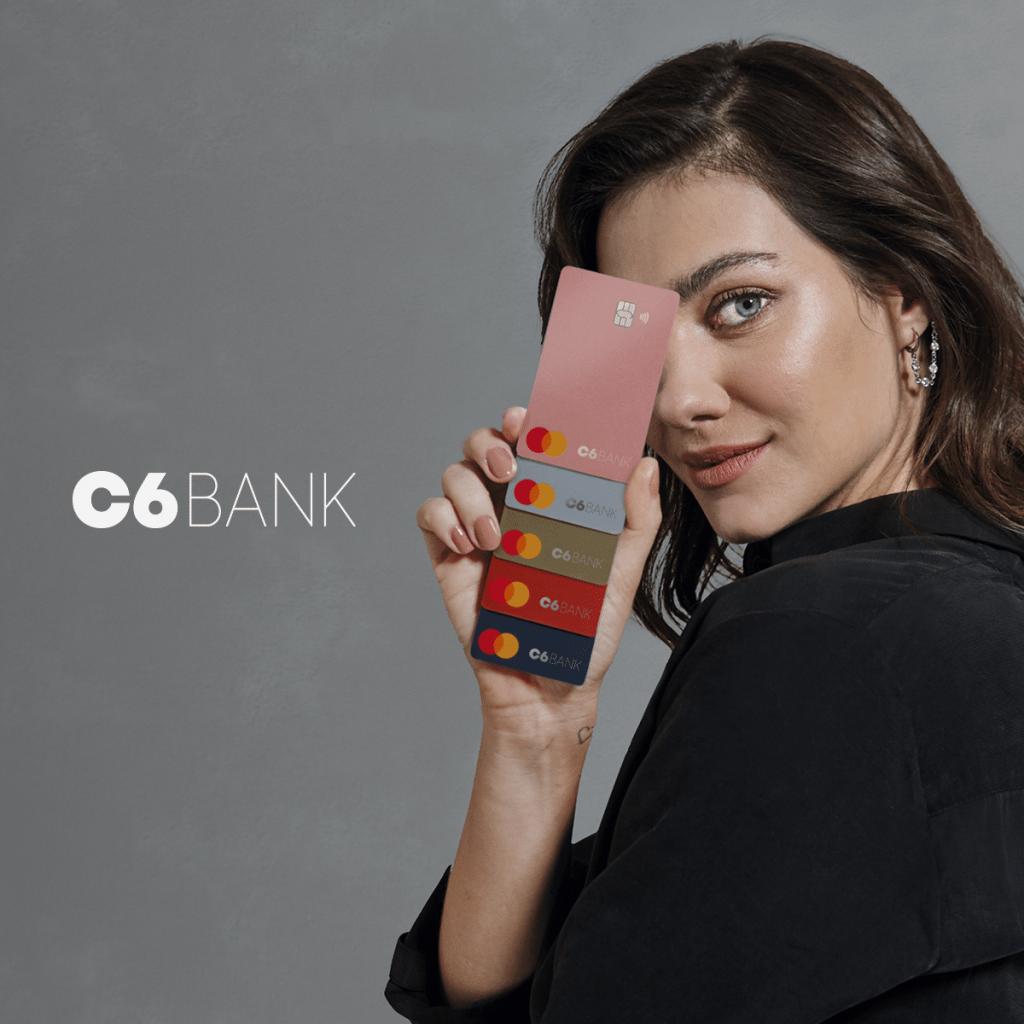 Venha conhecer o cartão de crédito do c6 bank e sua conta digital!