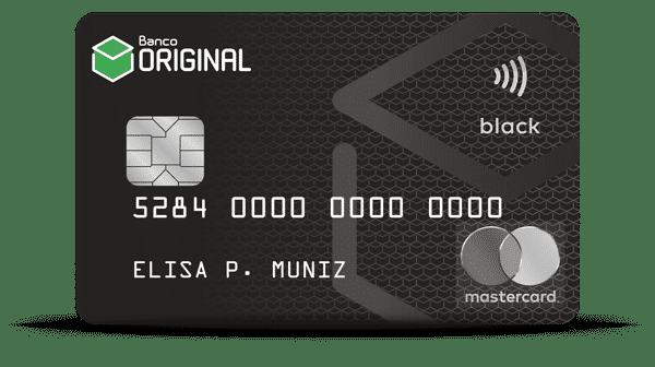 Cartão original black: aprenda como solicitar e como entrar em contato!