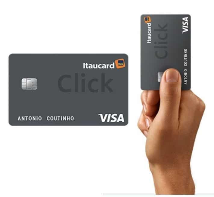 Conheça o itaucard click, um cartão do banco itaú!
