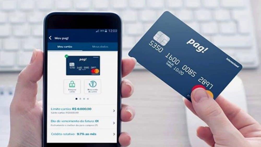 Conheça o cartão de crédito meu pag sem anuidade!