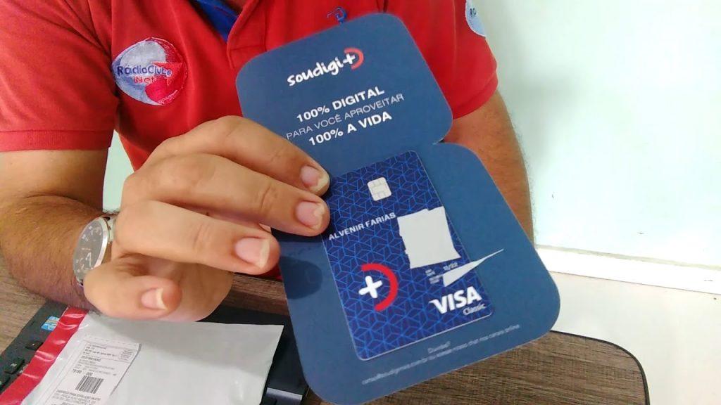 Conheça o cartão digimais e a sua conta digital!