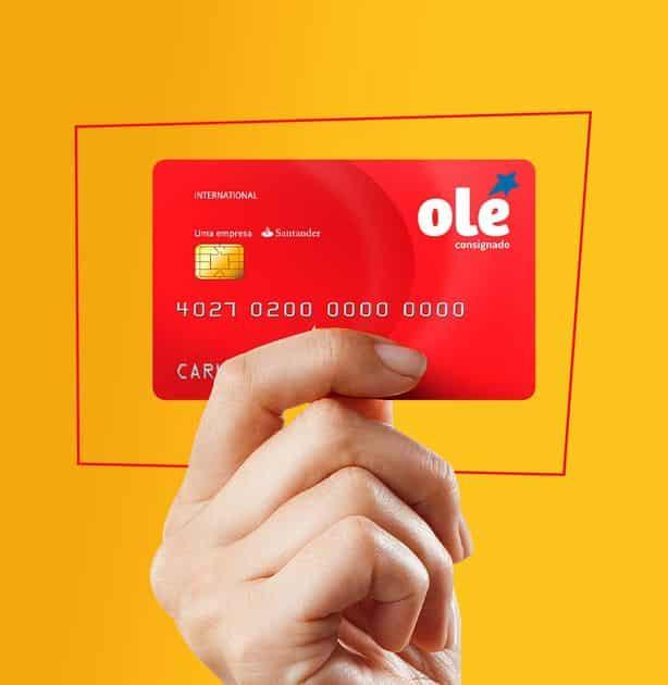 Conheça o cartão olé sem anuidade e disponível para negativados!