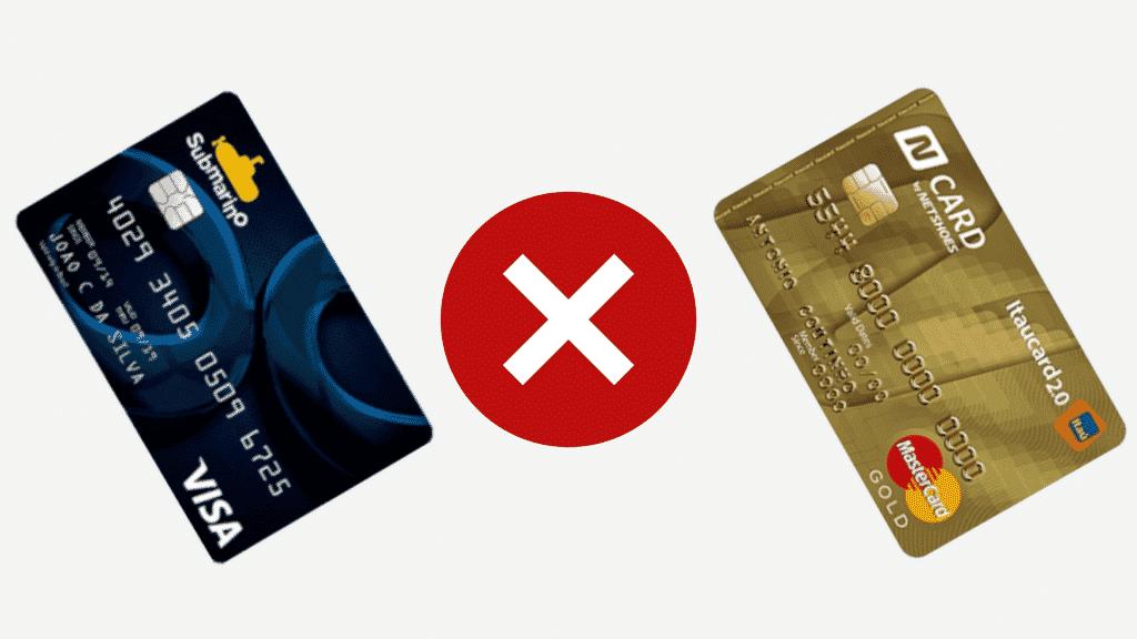 Submarino ou n card? descubra qual melhor opção de cartão dessas lojas!