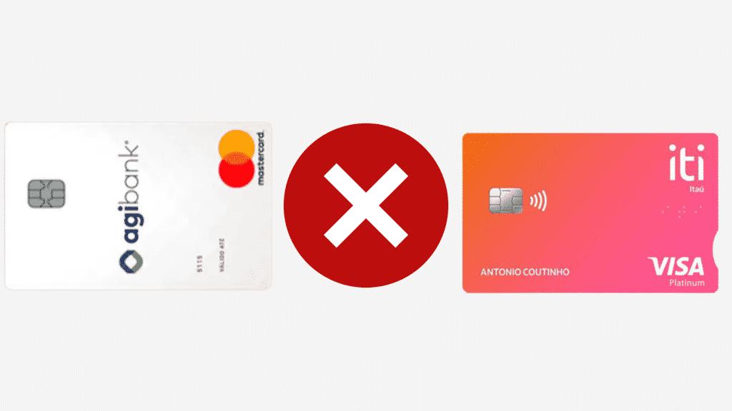 Iti ou agibank? qual melhor opção de cartão sem renda mínima?