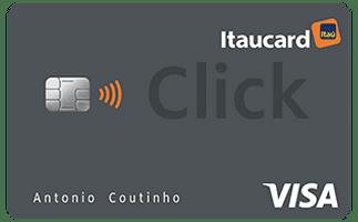 Conheça cartão itaucard click