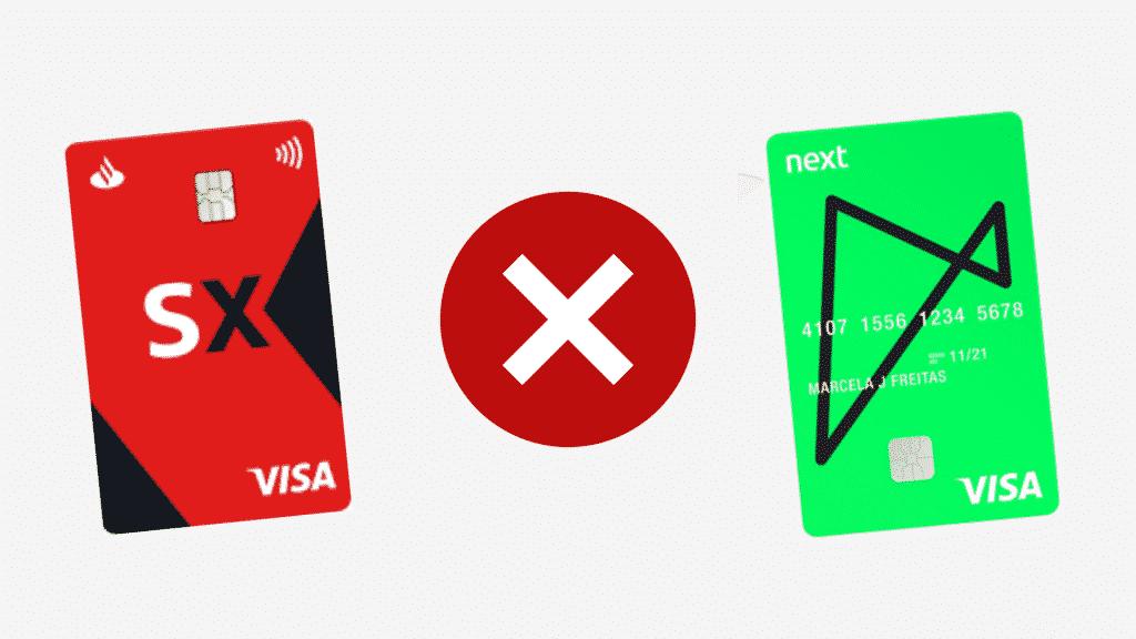 Santander sx ou next? qual a melhor opção?
