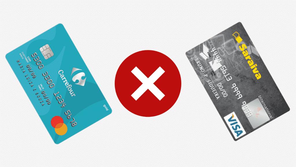 Carrefour ou saraiva? descubra qual a melhor opção de cartão de loja!