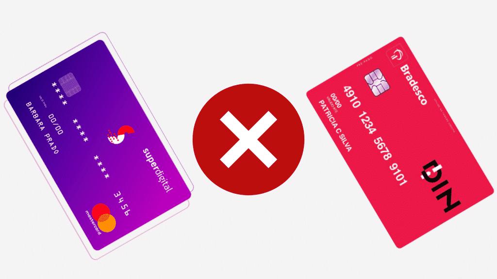 Superdigital ou bradesco din? descubra qual é a melhor opção de cartão pré-pago!