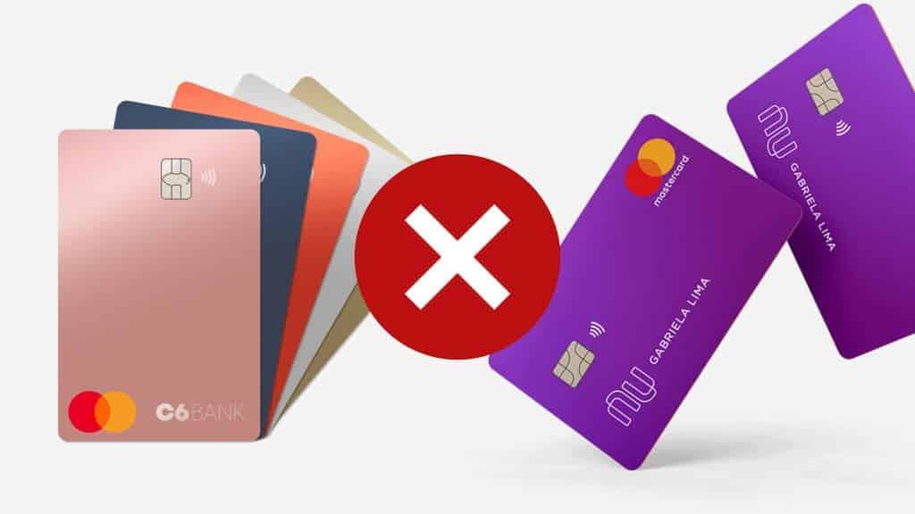 C6 bank ou nubank: qual cartão oferecer mais benefícos?