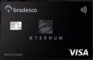 Cartão de crédito bradesco aeternum