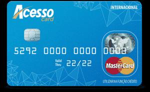 Conheça o cartão de crédito acesso