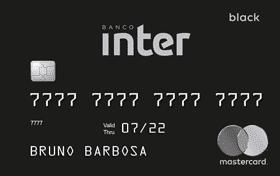 Cartão de crédito inter black