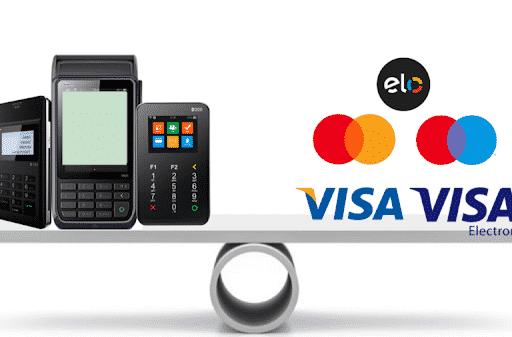 Descubra a diferença entre as bandeiras mastercard, visa e elo!