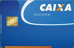 Convite para cartão caixa nacional