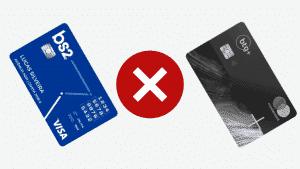 Bs2 ou btg? confira qual a melhor opção de cartão