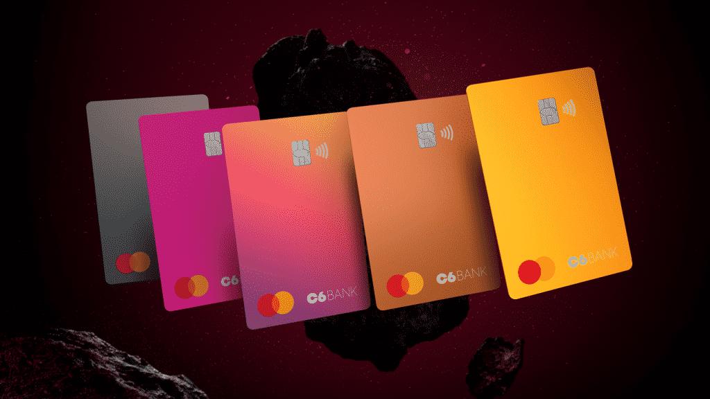 Inovação: c6 bank sai na frente de grandes bancos digitais e lança cartões de crédito de diferentes cores