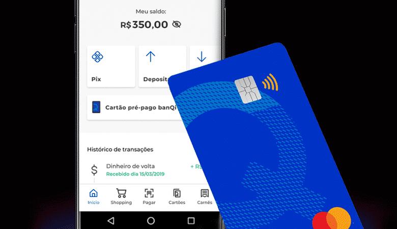 Cartão pré-pago do banqi: sem consulta, sem anuidade, uso internacional e muito mais; confira!