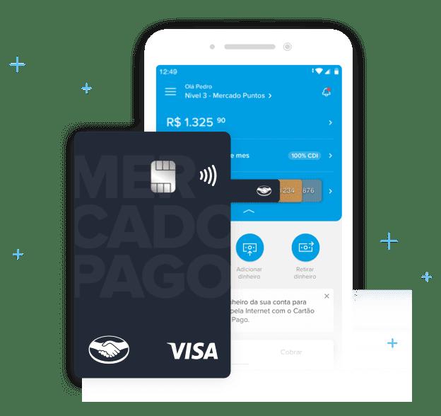 Está negativado? conheça o cartão mercado pago!