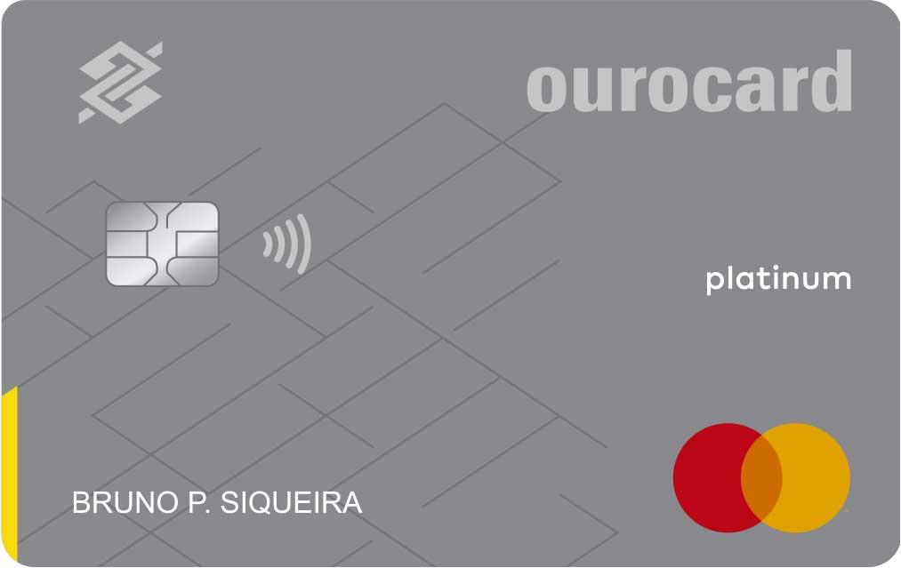 Conheça o cartão ourocard estilo platinum mastercard