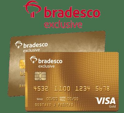 Cartão bradesco exclusive visa gold: cartões adicionais, programa de pontos, seguros e muito mais!