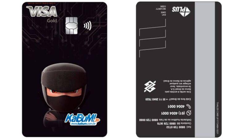 Cartão de crédito kabum!