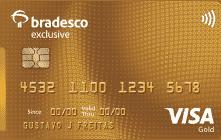 Cartão bradesco exclusive visa gold: solicitação e canais de atendimento