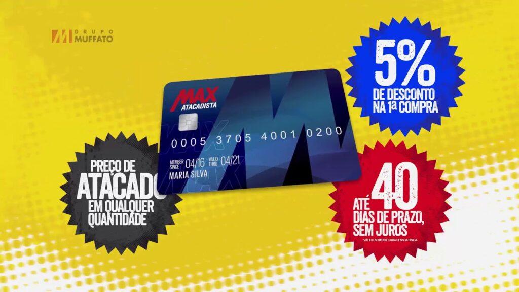 Cartão max atacadista visa
