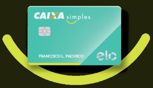 Cartão caixa simples: livre de anuidades, sem renda mínima, sem consulta ao spc ou serasa