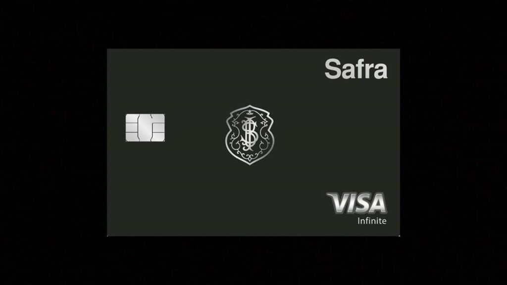 Cartão safra visa infinite: safra rewards, visa concierge e cobertura internacional
